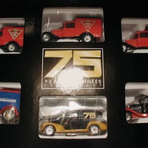 Matchbox Series of 6 miniature collectible trucks