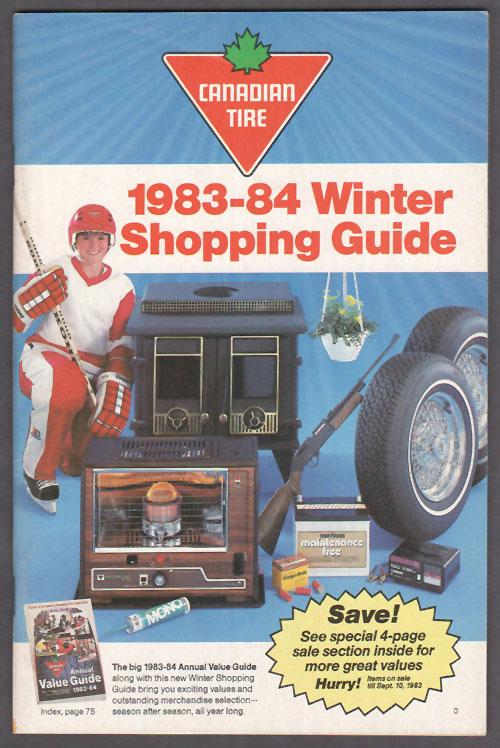 1983-84 Winter Shopping Guide