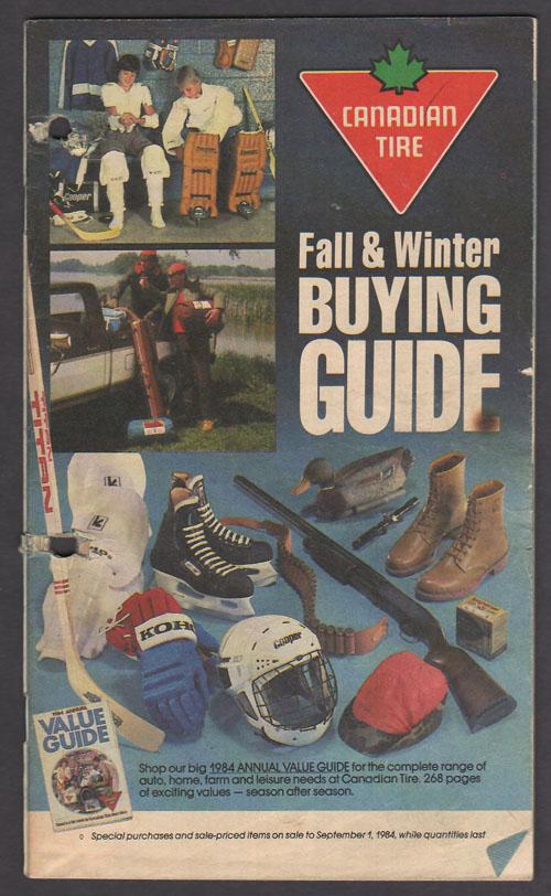 1984 Fall & Winter Buying Guide