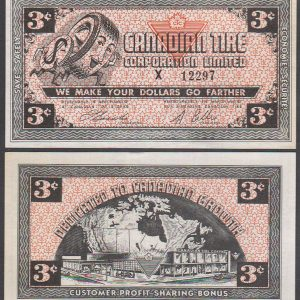 CTC 3-C - X 12297  -  Fine - Five digit