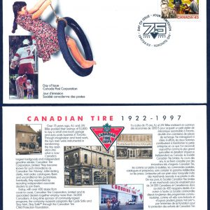 CTC First Day Cover