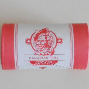 CTC $1.00 Hockey Coin New Roll of 25 -  UNC