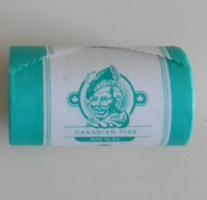 CTC $1.00 Toboganning Coin New Roll of 25 -  UNC