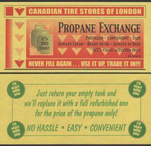 Yellow Propane Deal - London - UNC