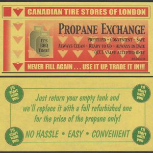 Yellow Propane Deal - London - UNC