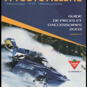 2003 Snowmobile