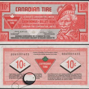 CTC S27-C04  -  UNC - Red & Green Dots