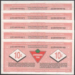 CTC S26-C  -  UNC - Serial number set