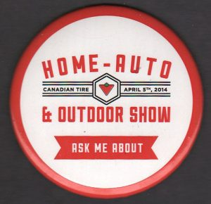 CTC Home-Auto & Outdoor pinback button