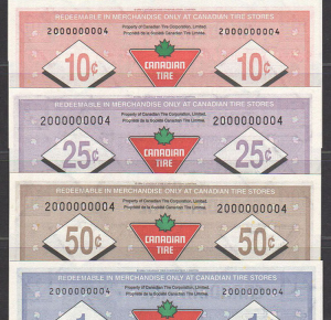 CTC S20-24 - UNC - Set of matched serial numbers