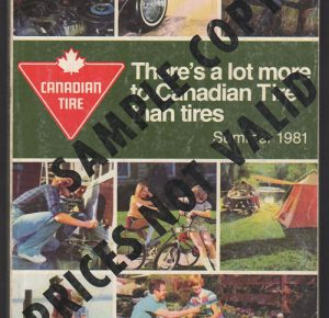 1981 Summer - SAMPLE COPY