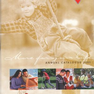 2001 Annual Catalogue