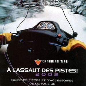 2001 Snowmobile Catalogue