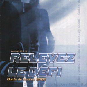 2002 Hockey Catalogue