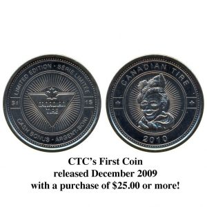 CTC $1.00 Coin  -  UNC