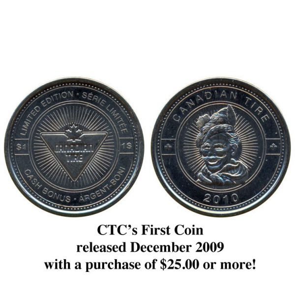 CTC $1.00 Coin  –  UNC