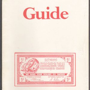 1987 Bilodeau GUIDE - 1st edition Small Black & White