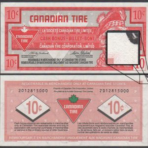 CTC S20-C1 - 2012815000 - UNC - Black mark on back top corner