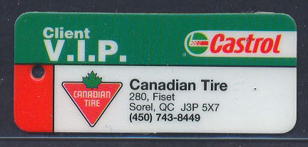 Castrol VIP Key chain add-on