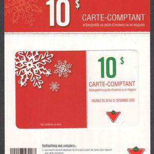 CC-010-12-2006AF - UNC - on original card