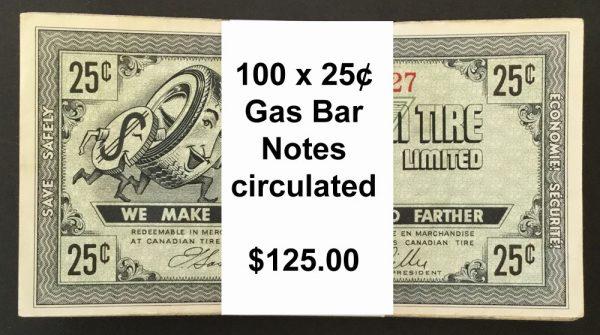 Gas Bar 25¢a