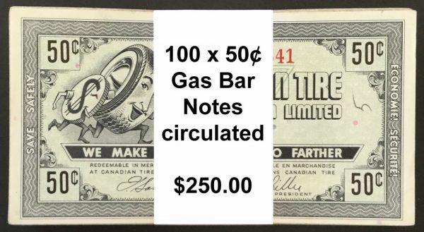 Gas Bar 50¢a